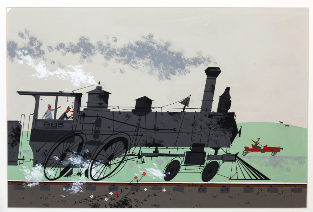 Locomotive (Bye Bye Steamer)